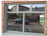 window frame painted ral 7044